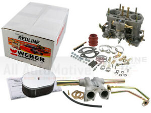 Weber Carburetor Kit Vw Bug Beetle Type 1 Bus Type Ii W Single 40idf K1315