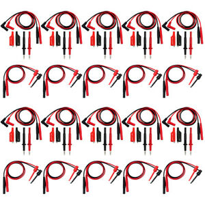 10pcs Aidetek Multimeter Test Lead Set Tl809 Electronic Test Lead Tlp1070 Usa