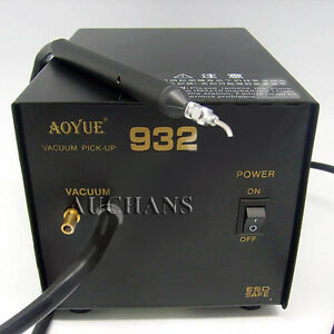 220v Aoyue 932 Vacuum Pick up Soldering Station Vacuum Soldering Rework Station