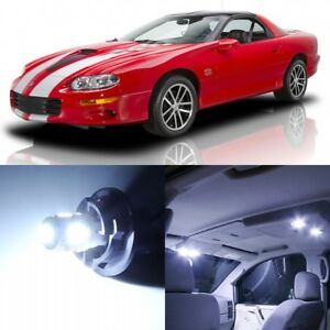 11 X Xenon White Interior Led Lights Package For 1993 2002 Chevy Camaro tool