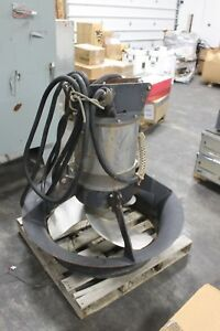 Flygt 4570 Heavy Duty Waste Water Process Stainless Submersible Mixer 20hp