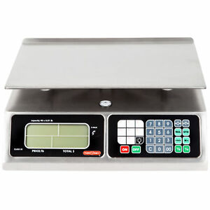 Torrey Scale Tor Rey Restaurant Scale Commercial Food L pc 40l Kitchen Lpc40 New