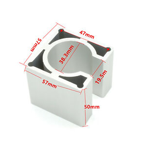 Nema23 Stepper Motor Mount Aluminium Alloy Bracket Clamp 57x50mm For Cnc Router