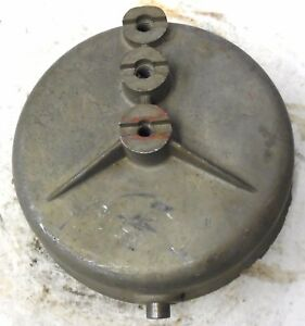 Unknown Brand Fire Alarm Gong Bell Used W 553 6100 For Surface Mounting