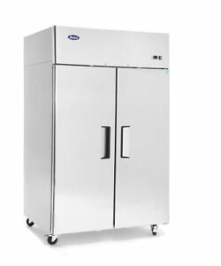 Atosa Mbf8002 Top Mount 2 Two Door Freezer New Commercial Kitchen