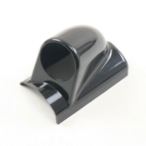 2 36 60mm Single Gauge A Pillar Cup Meter Dash Pod Mount Holder Black Abs