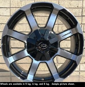 4 New 17 Wheels Rims For Canyon Savana Sierra Silverado 1500 Yukon 25023