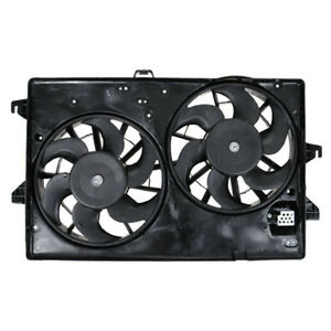 Contour Mystique Cougar Dual Radiator A c Condenser Cooling Fan Motor Assembly
