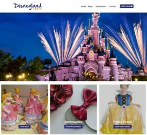 Disneyland Store Website Business Earn 488 A Sale Free Domain web Hosting