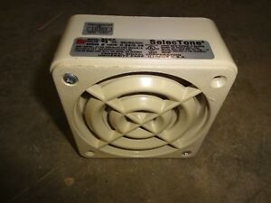 Federal Signal 50gc Selectone Speaker Amplifier 24v