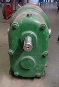 Waukesha Size 55 Stainless Steel Sanitary Displacment Pump 2 Ports