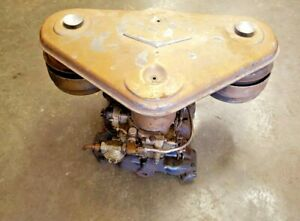 1956 Cadillac Dual Quads Set Up Correct Bat Wing Pots Carburetors Manifo