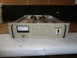 Commwave Communication Microwave Model Sb010a 10 Watt Transmitter power On Mis