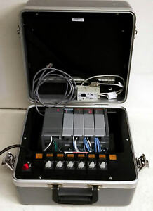 Allen Bradley 1747 demo 7 Slc 500 Training Kit Gray W 1747 uic Adapter