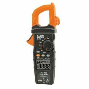 Klein Tools Digital Clamp Meter Ac dc Auto ranging 600a Cl800