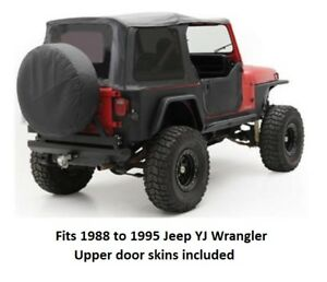 Jeep Replacement Soft Top With Tinted Windows For 1988 To 1995 Jeep Yj Wrangler