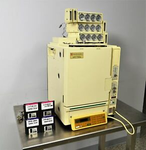 Shimadzu Gc 14a Gas Chromatograph Analytical W Controller Flow Regulator
