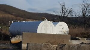 Used 6000 Gallon Diesel Fuel Storage Tank