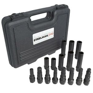 Steelman Pro 78537 Locking Lug Nut Master Set Wheel Lock Key Removal Tool Kit