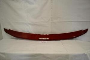 Fits Ford Mustang 2010 2013 Rear Spoiler Ruby Red Tintclear