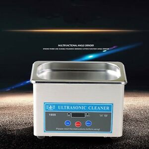 Ultrasonic Cleaner Bath Washing Jewelry Dental Parts Cleaning Equipment 220v