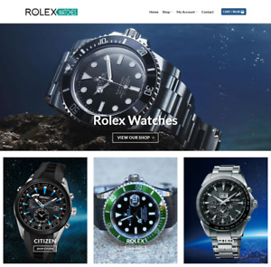 Rolex Watches Website Business Earn 949 A Sale Free Domain hosting