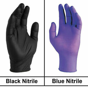 Disposable Nitrile Gloves Powder Free Strong non Latex Non Vinyl S M L Xl 2xl