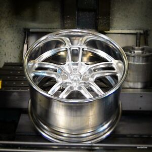18x9 american Racing Forged Vf 497 Polished Wheel Chevy Ford Dodge Mopar Gm