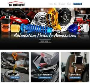 Car Accessories Website Business Earn 298 A Sale Instant Traffic domain
