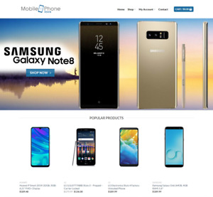 Mobile Website Business For Sale Earn 751 A Sale Free Domain free Hosting