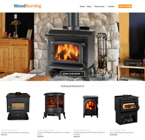 Wood Burning Website Business Earn 805 A Sale Free Domain free Hosting