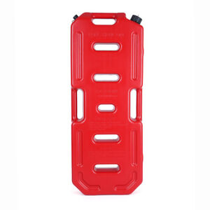 Red Plastic Hdpe Gas Tank Jerry Can Anti skid Plate Flexible Spout 5 Gallon 20 L