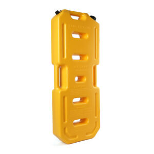 Yellow Plastic Hdpe Gas Tank Jerry Can Anti skid Plate Flex Spout 5 Gallon 20 L