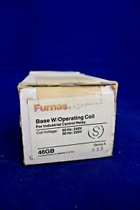 Furnas Control Relay Base W Operating Coil 46gb4