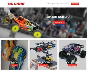 Rc Toys Website For Sale Earn 449 A Sale Free Domain web Hosting traffic