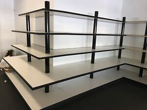 Retail Display Shelves From A Previous Makasa Crystal Store Made Well