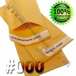 Vivamailers 500 000 4x8 Kraft Paper Bubble Padded Envelopes Mailers Free Ship