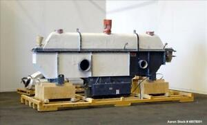 Used Carrier Vibrating Equipment Inc Vibratory Fluid Flow Continuous Fluid Bed