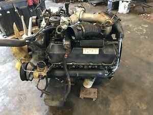 Ford Powerstroke 7 3 Engine Good Takeout Fits 1999 2002 F series Super Duty