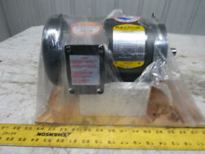 Baldor 35a03 87 1hp 1725rpm 208 230 460v 143tc Custom Ac Motor
