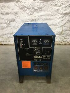 Miller Cp 300 Mig Welder Power Source Cv dc