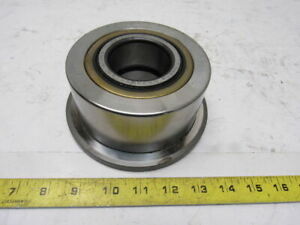 5 Diameter Flanged Cam Followers Yoke Bearing 2 1 8 Id