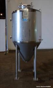 Used Dci Reactor Approximate 200 Gallon 304 Stainless Steel Vertical Approx