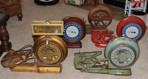 5 Each Angldile Springless Computing Scale Antique Scale Elkhart Indiana 1900 S