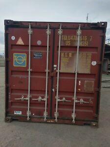 40 Standard Open Top Storage Shipping Container containers la