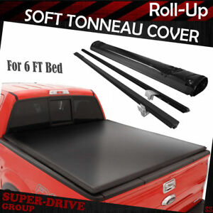 Lock Roll Up Soft Tonneau Covers For 1983 2011 Ford Ranger 6 Ft Bed Cargo Box