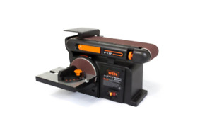 Adjustable Belt Sander Multi Tool Benchtop Heavy Duty Disk Sand Attachment