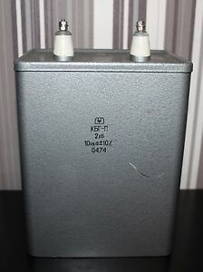 Kbg p Paper Pio Capacitor 10 Uf 2kv 10 Lot Of 1 Pcs