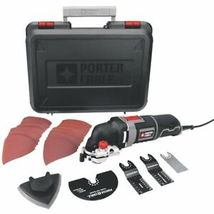 Porter cable Pce605k 3 amp Corded Oscillating Multi tool Kit With 31 Accessories