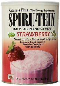 Nature s Plus Spiru tein Strawberry Flavor 2 4 Lb Powder